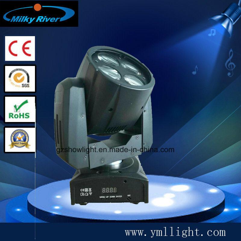 2017new Best Selling 4PCS*10W Mini Super Beam Moving Head Light Star Concert Light