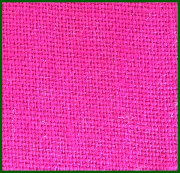 Colored Jute Burlap Fabric Roll