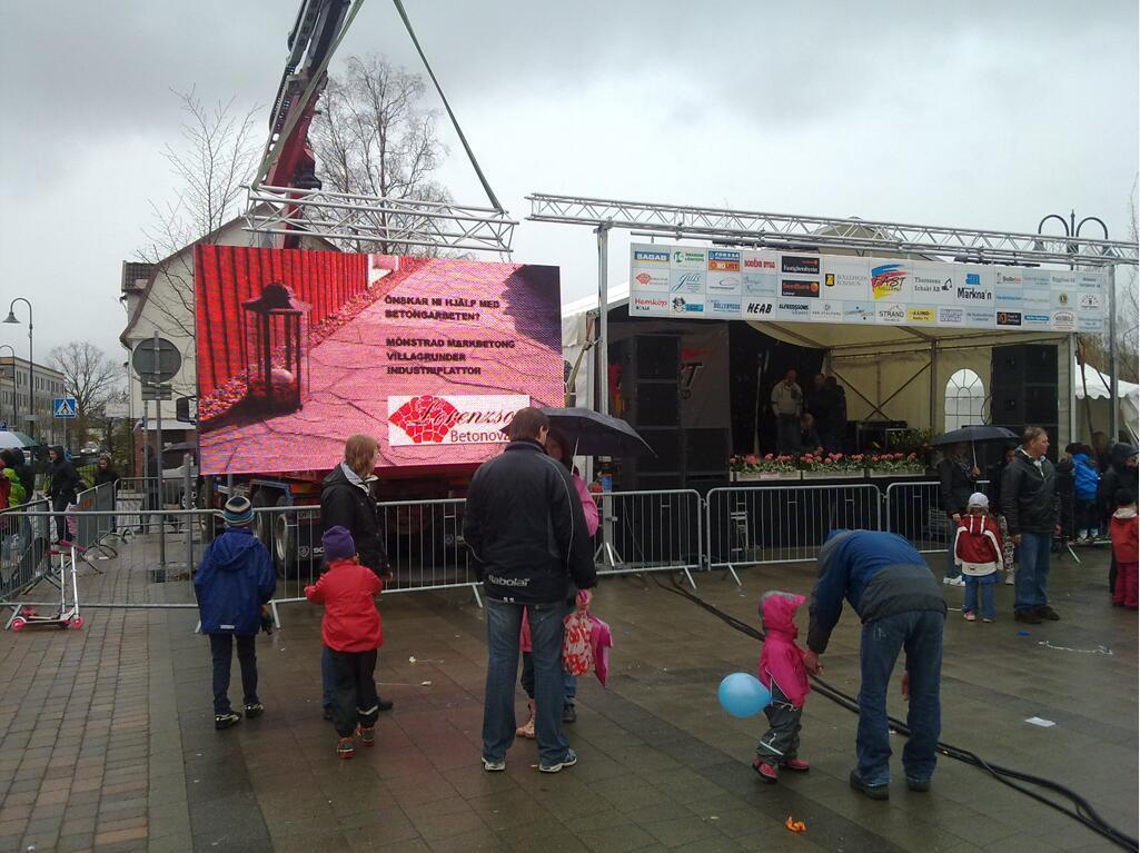 High Brightness P6mm Rental Outdoor LED Display for Festivals