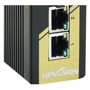 3 Megabit Ports Industrial Ethernet Network Optic Switch