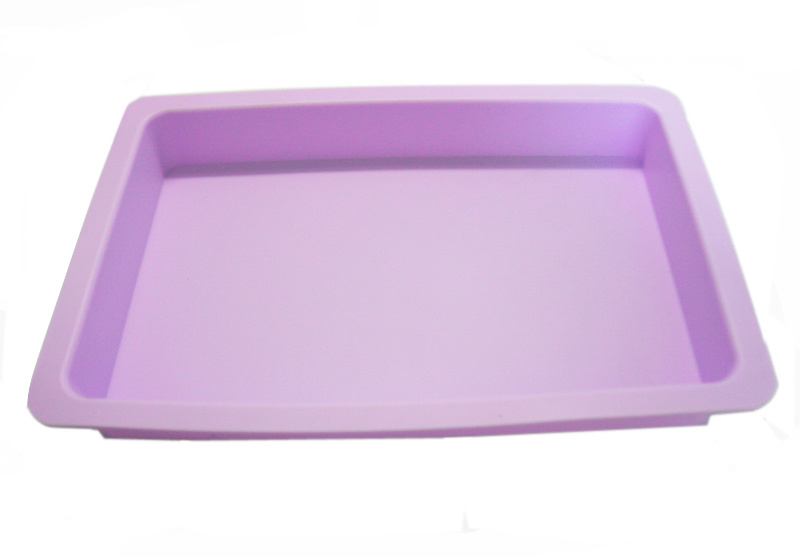 Heat Resistant King Size Food Grade Silicone Baking Tray, Baking Pan for Baking Cake