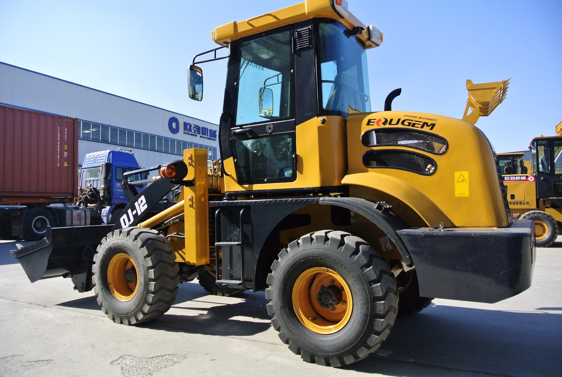 Zl12 China 0.7cbm Bucket Capacity Mini/ Small Wheel Loader (1.2TON)