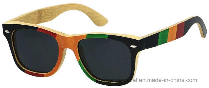 Accept OEM 2017 Hot New Bamboo Frame Sunglasses