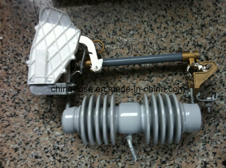 High Voltage Porcelain Fuse Cutout, Load Break Drop out Fuse 10-15kv