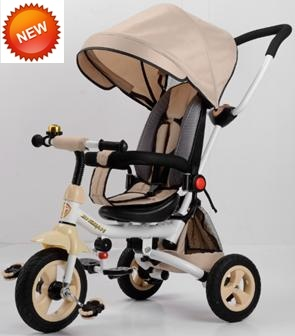 2017 New Model Steel Frame Baby Tricycle with European Standard (CA-BT301)