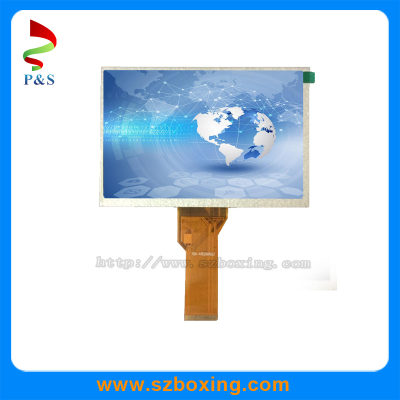 7 Inch TFT LCD Module with 800 (RGB) X480 Resolution
