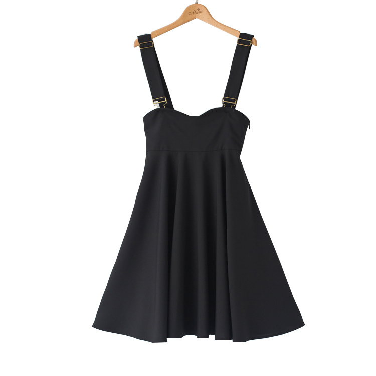 New Fashion Women Sweet Lovely Takedown Braces A Line Skirt