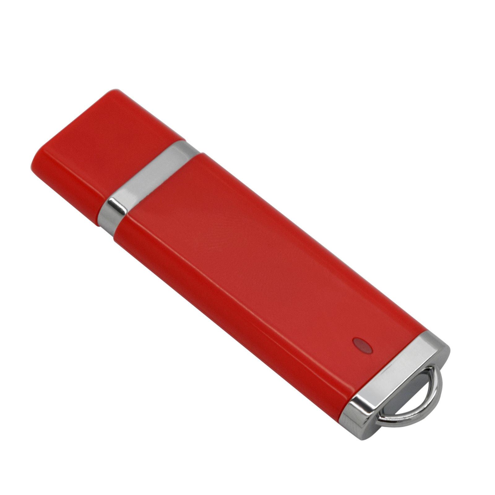 Plastic Popular USB Flash Pen Drive Logo Customized Gift