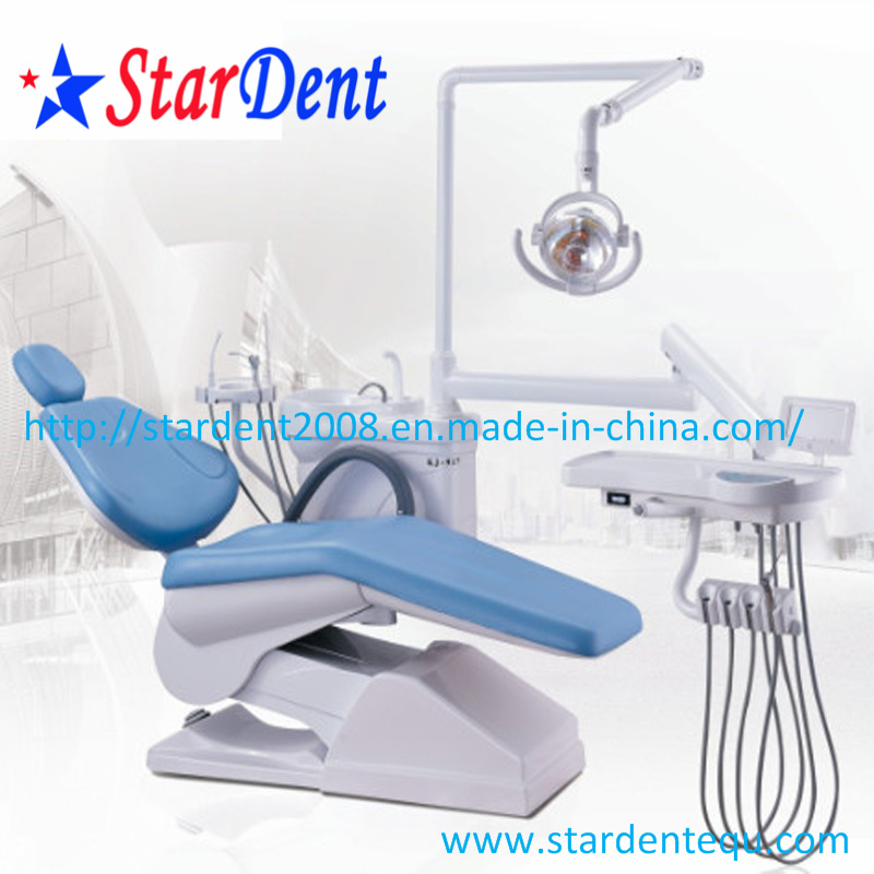Dental Chair PU Colors for Dental Hospital Medical Lab Surgical Diagnostic Equipment