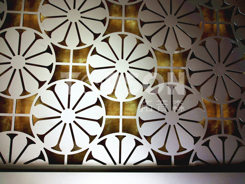 Decorative Stainless Steel Metal Room Divider