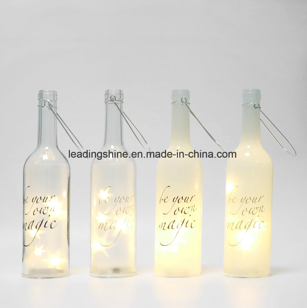 Starlight LED Light Bottle Your Very First Breath Sentimental Friend Gifts Bottles