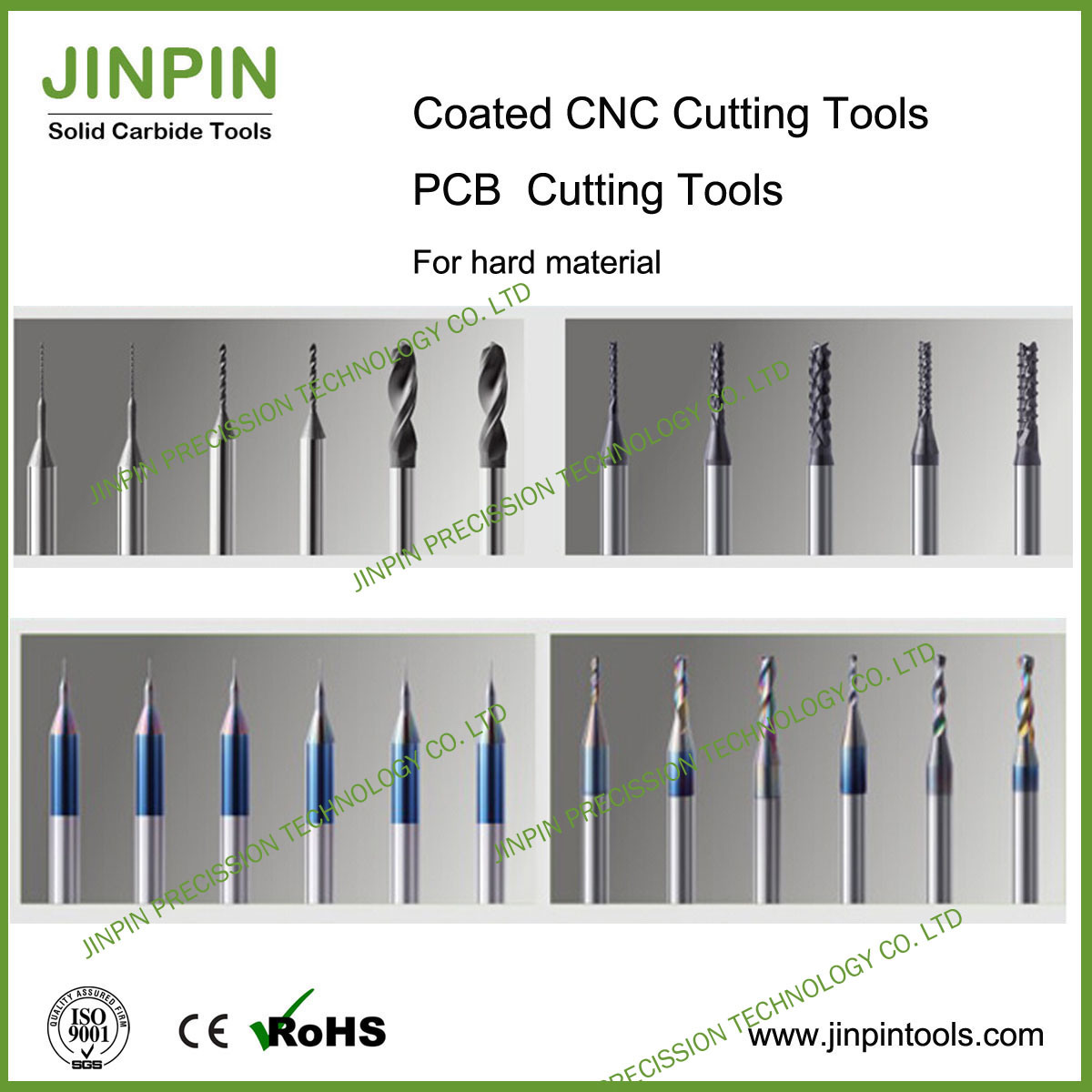 CNC Machine Tungsten Carbide Cutting Tools of Coating Drill
