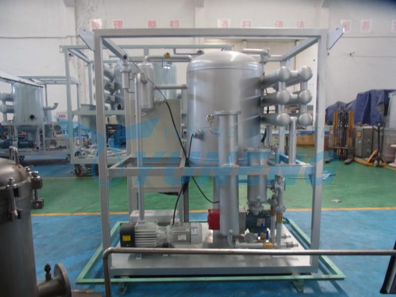 Vacuum Condenser Oil Filtration Machine Zjb Series