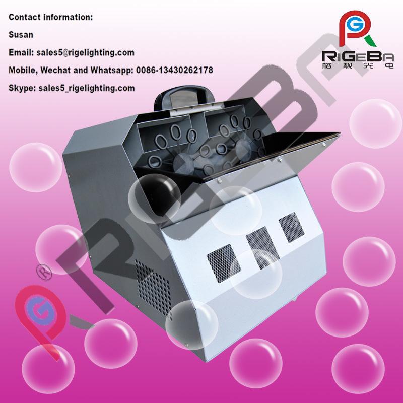 Remote Wireless Bubble Machine Entertainment Amusement Machine