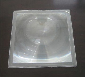 Fresnel Lens for Simulation and Emulation of Visual System