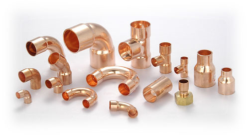 China copper fittings china copper fittings pipe fittings for Copper water pipe connectors