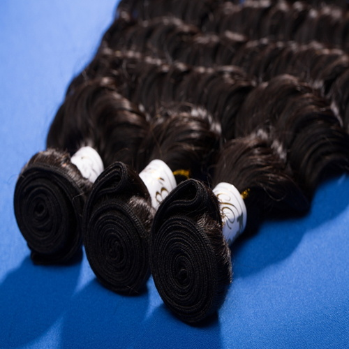 Brazilian Virgin Hair Deep Wave 100g/PC Natural Color No Tanglt No Shedding