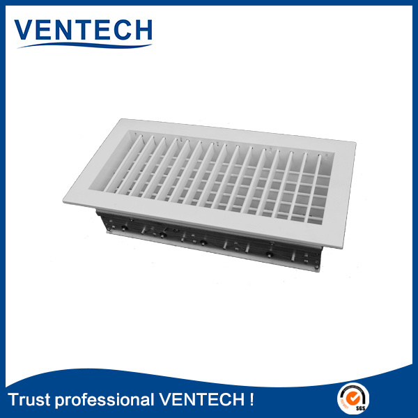 Supply Air Grille Double Deflection Type (DDG-VA) , High Quality Air Grille
