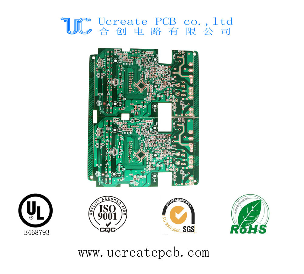 Multilayer PCB Printed Circuit Board with RoHS and UL
