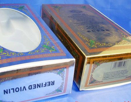Paper Boxes / Packaging Box / Silver Card Box