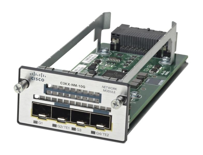 New Cisco C3kx-Nm-10g= 2 X 10 Gigabit Network Modules