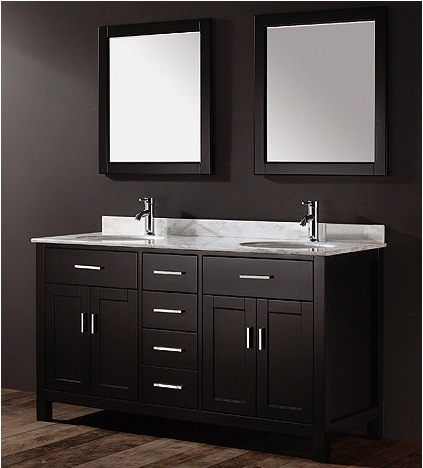 China Bathroom Vanity Double Sinks Wooden Bathroom Cabinet 58256 China B