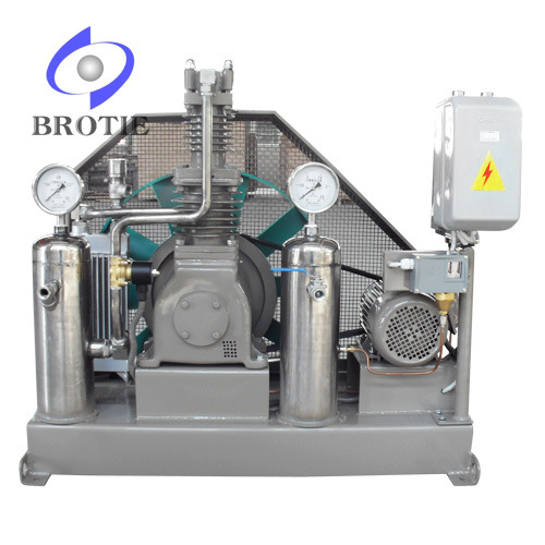 Totally Oil-Free Oxygen Compressor (1-150bar)