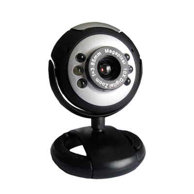 PC Camera with Microsoft Design with 6 Lights ST-CAM618 (Best Sellers