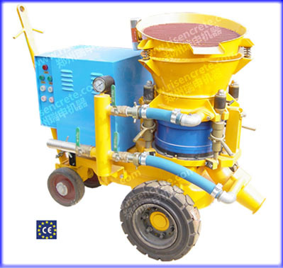 Small-Size Gunite / Shotcrete Machine (PZ-3)