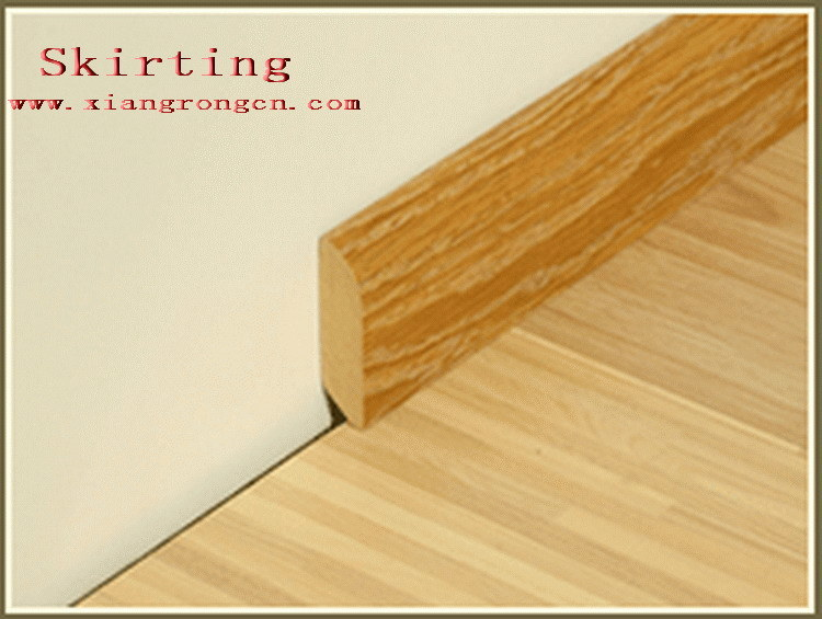 Skirting 03 for laminate floor and hardwood floor china for Hardwood skirting