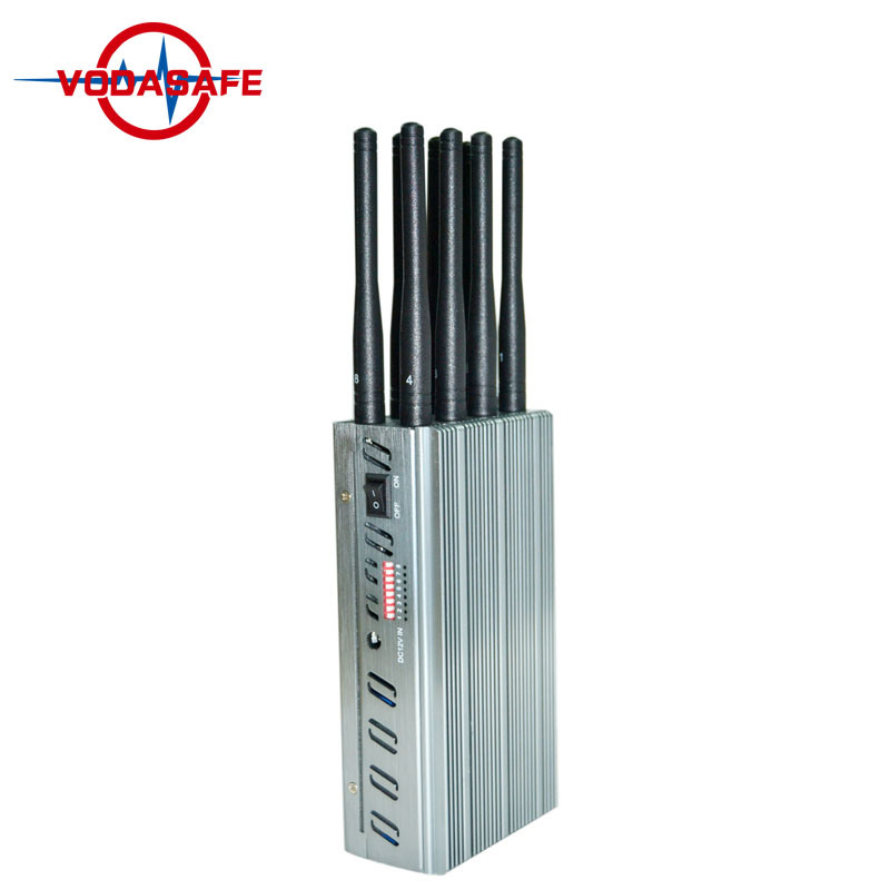 China Portable 8 Antennas High Power Handheld 3G/ 315/ 433/ Lojack Jammer, Built-in Battery, 8 Bands Jammer for 2g 3G 4G Lte GSM CDMA Cell Phone Signal Blocker - China Portable Cellphone Jammer, Wireless GSM SMS Jammer for Security Safe House