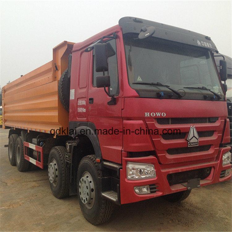 HOWO 12 Wheels 8X4 40t Dump Truck Sale in Dubai