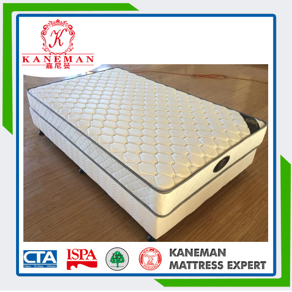 Hot Selling Very Cheap Flat Compressed Single Spring Mattress