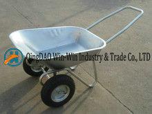 Double Wheels Wheel Barrow Wb6211