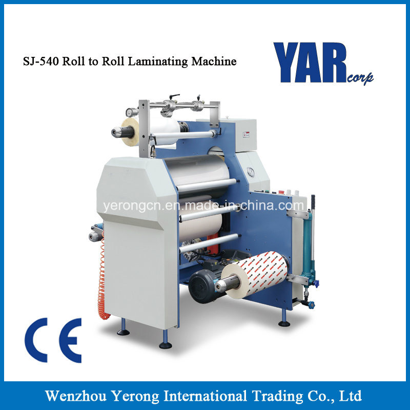 Best Price Sj-540 Roll Film Laminating Machine with Ce