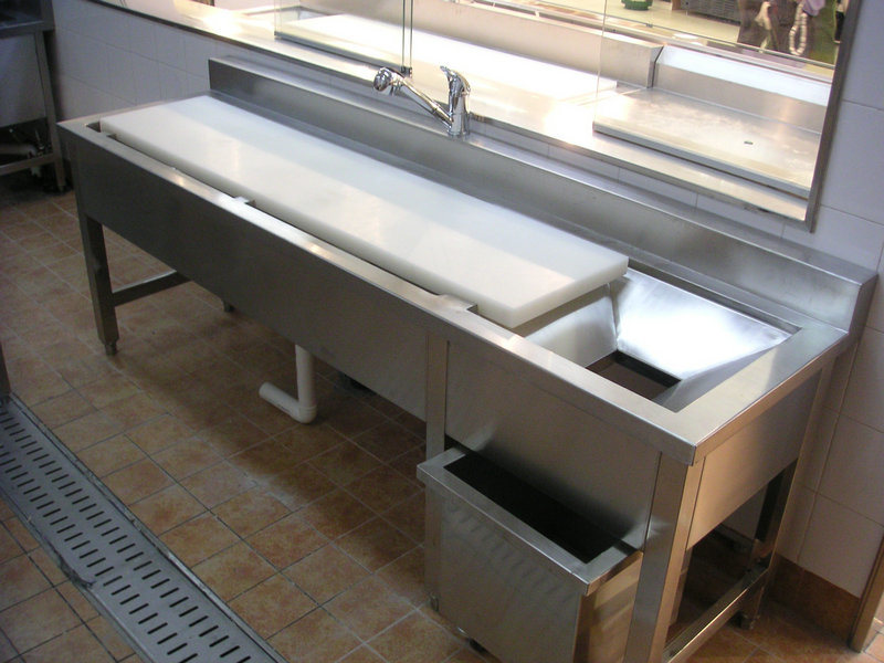 Stainless steel kitchen tables used roselawnlutheran - Steel kitchen tables ...