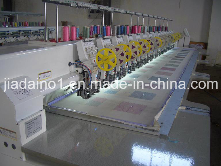 615 Double Sequin Embroidery Machine