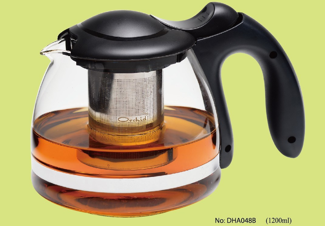 Glass Tea Pot in 1200ml (DHA048B)