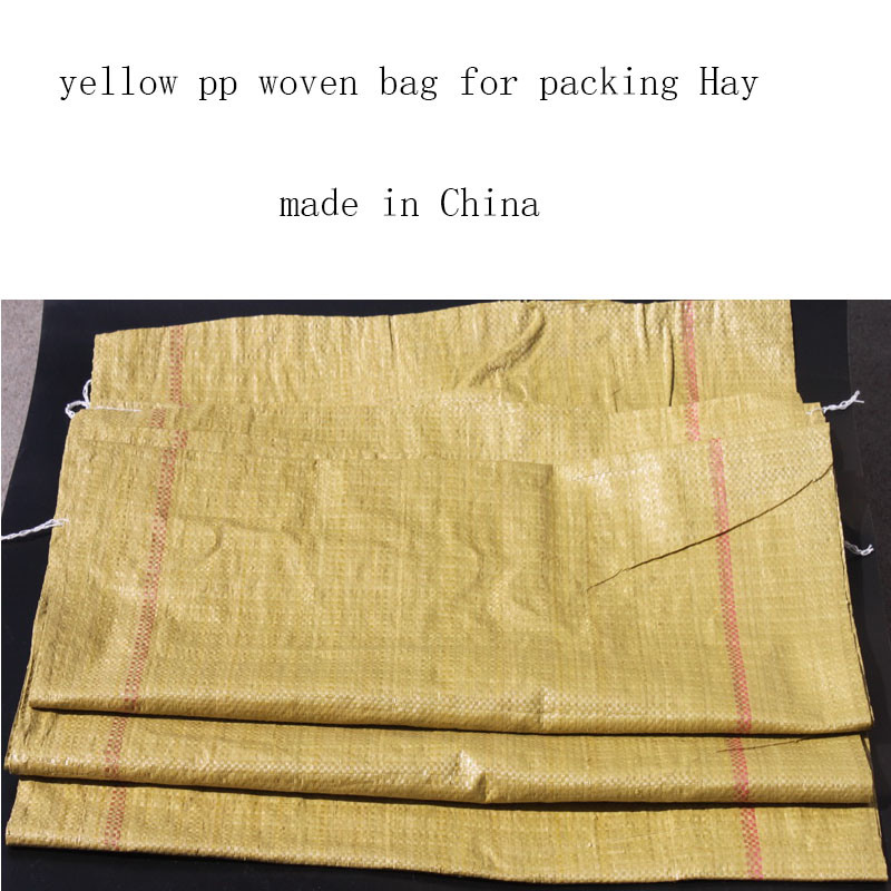 PP Woven Bag for Packing Hay Export to Russia
