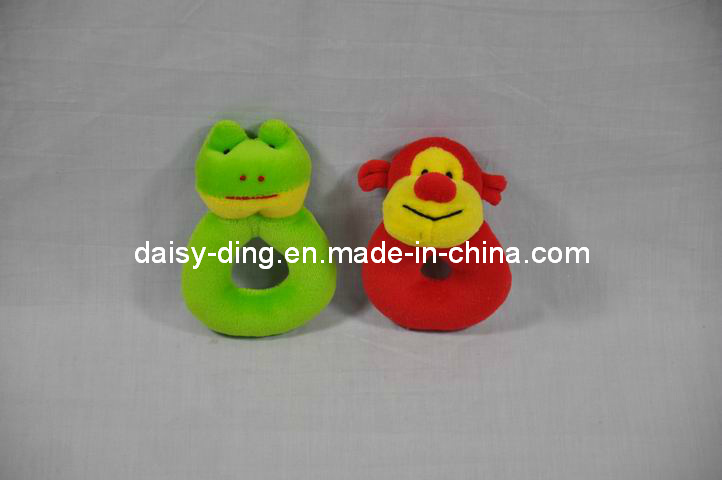 Samll Baby Hand Ring Toys with Sound