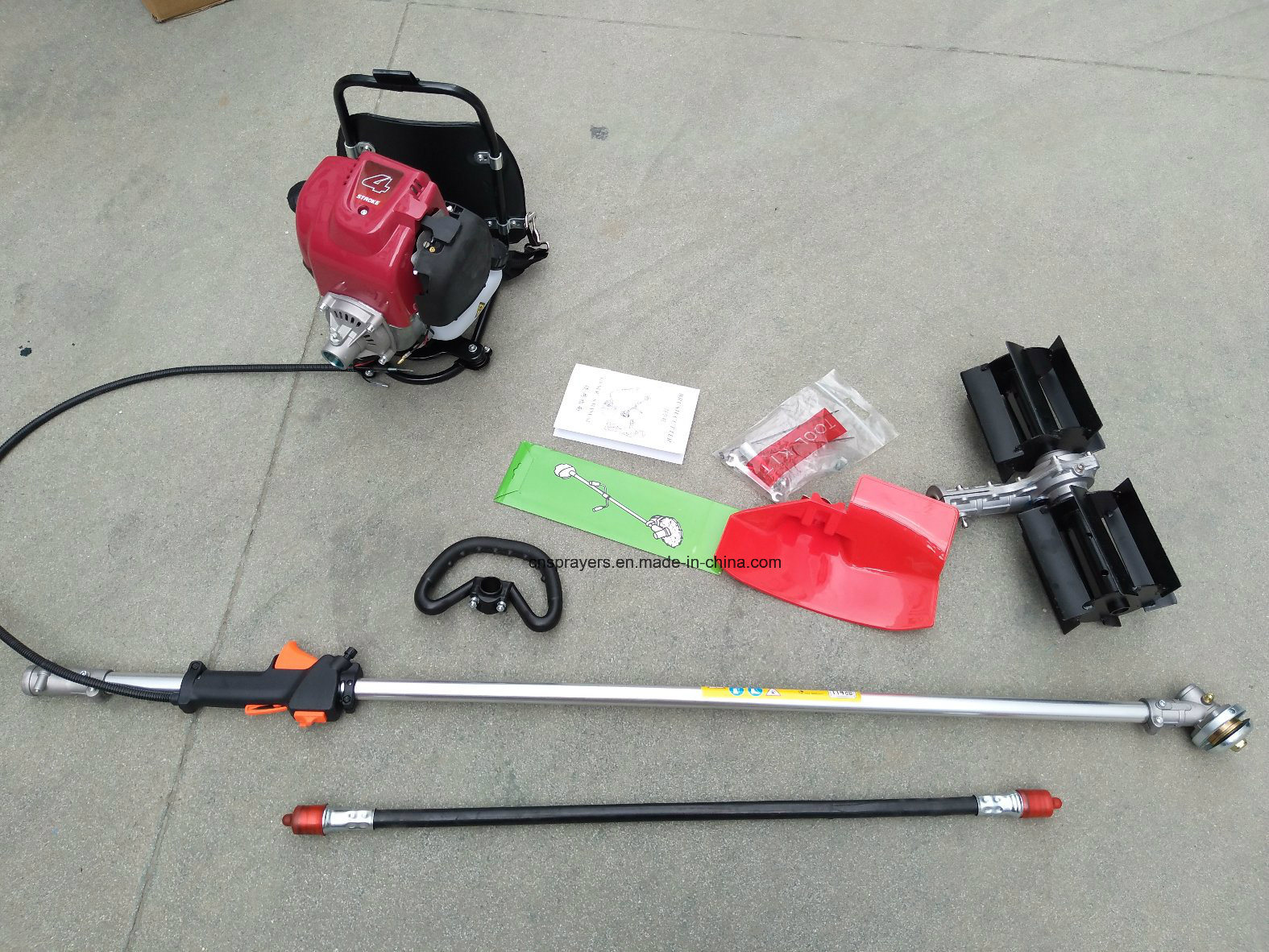 Gasoline Engine 139F 4 Strokes Knapsack Motorized Weeder / Brush Cutter (HT-BG330)