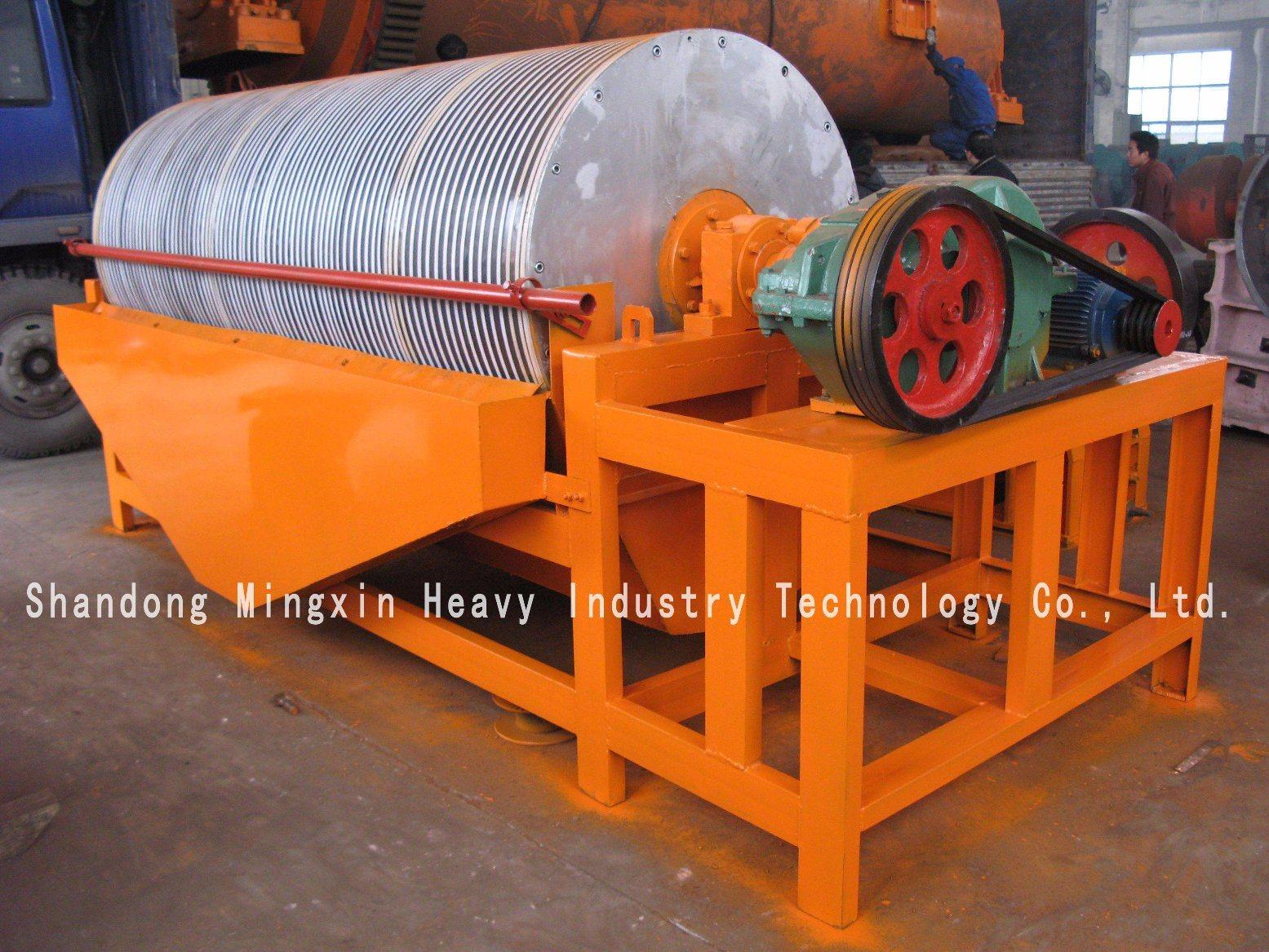 Dry Magnetic Separator 7000 Gauss for Gold Washing Machine
