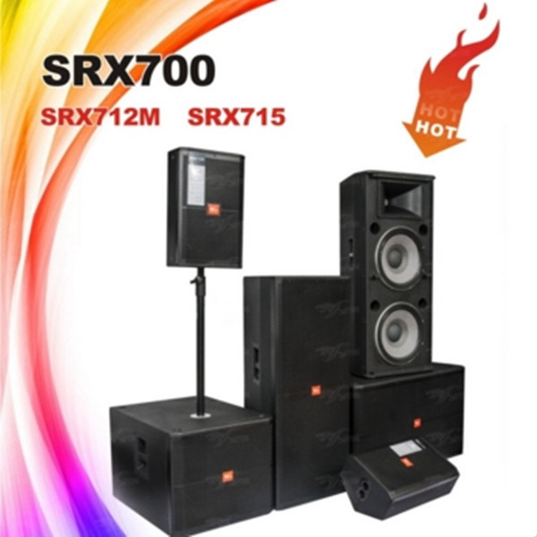 SRX700 Series High-Power Two Way PA Sound System Professional Speakers