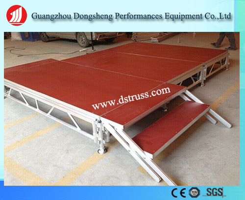 Outdoor Use Moving Stage Activity Stage