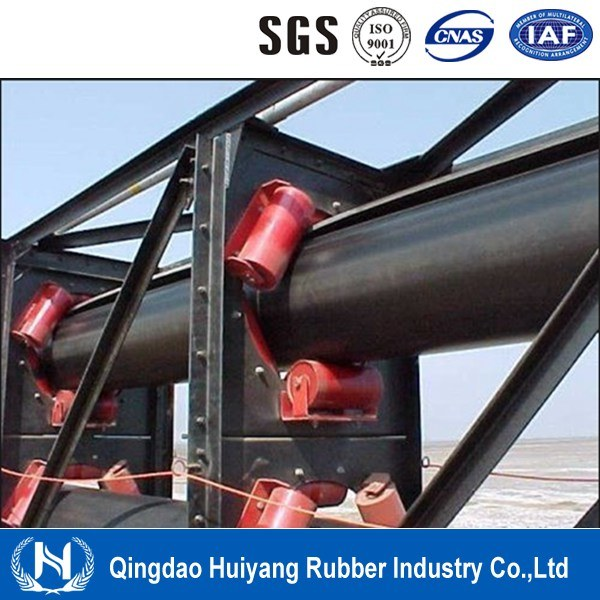 Textile Carcass Pipe Rubber Conveyor Belt
