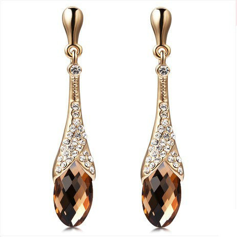 Europe and America Style Drop Earrings (FQ-9008)
