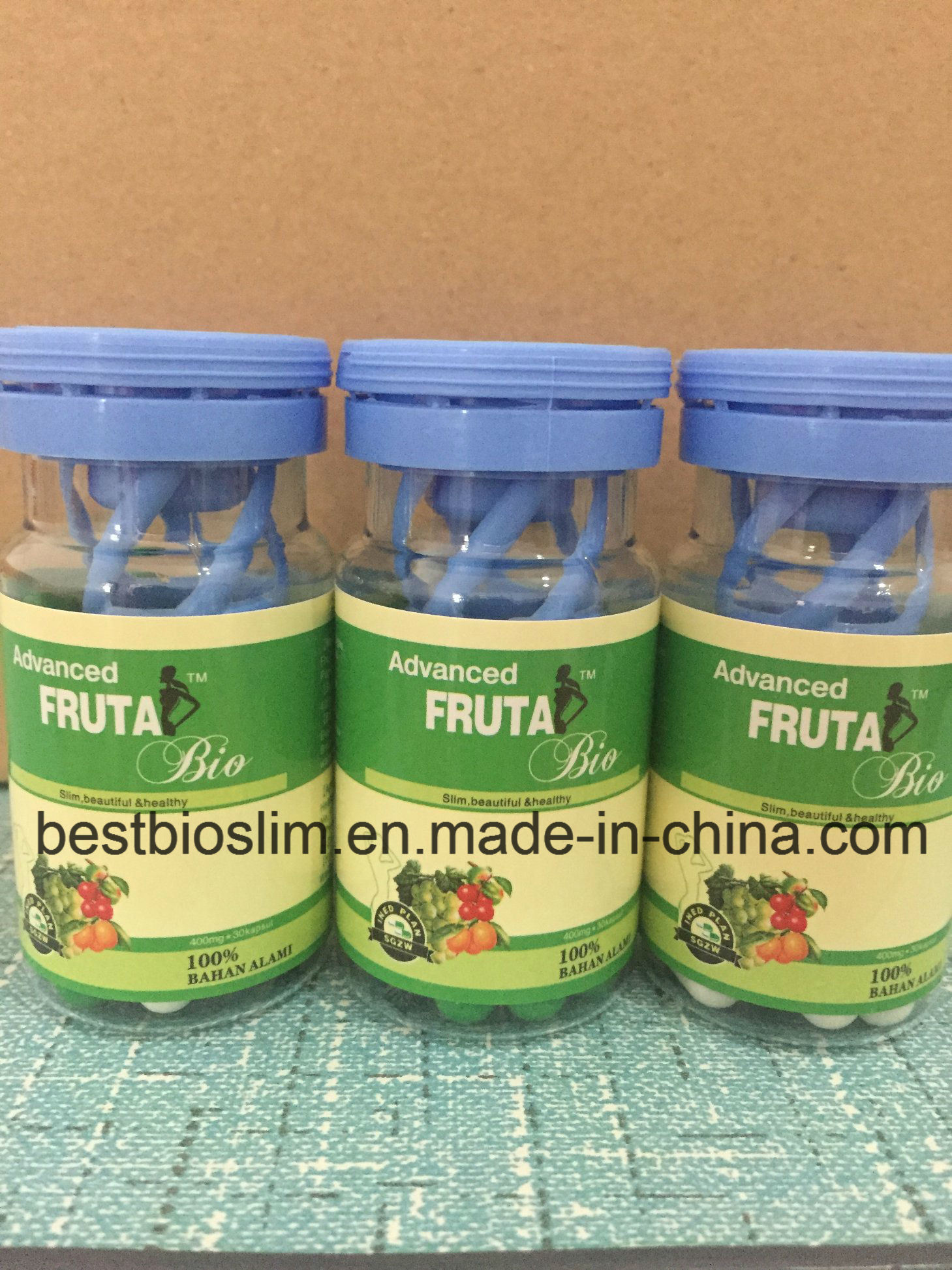 100% Original Nature Fruta Bio Bottle Weight Loss Slimming Pills