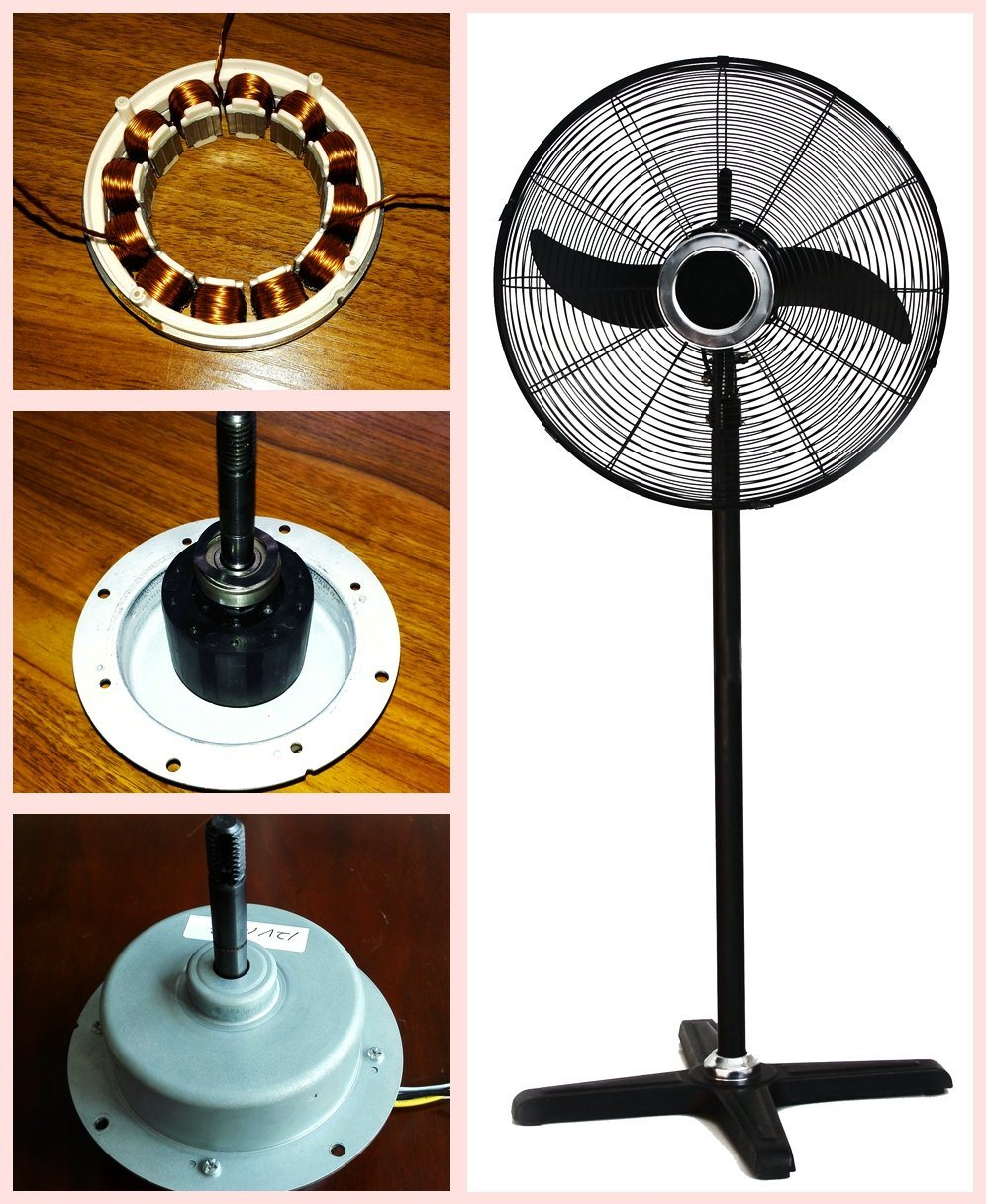 "26"" Strong Wind Energy Saving AC Industry Fan with Inverter DC Motor"