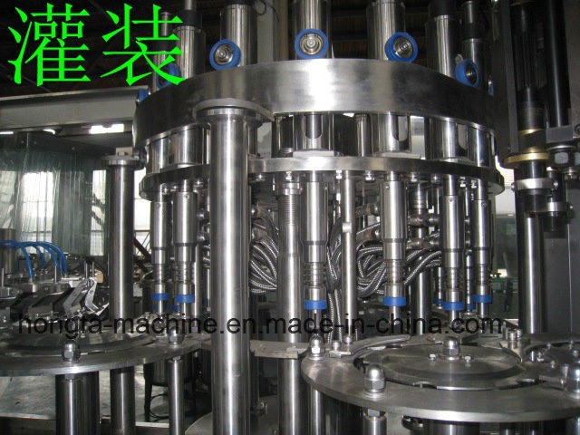 18-18-6 Full-Automatic Carbonated Drinks Filling Machine