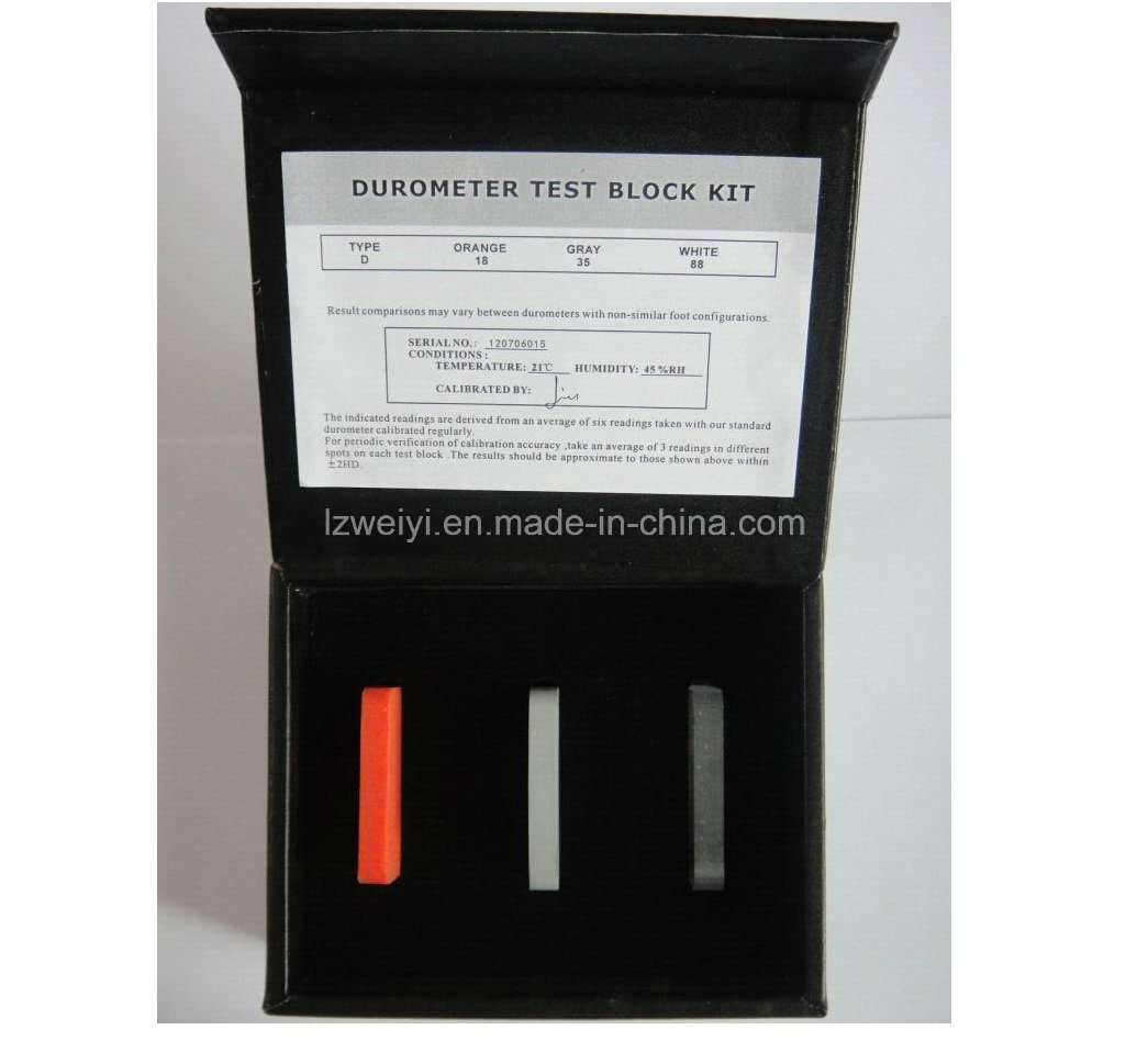 Shore a/D Stype Hardness Tester Standardized Block